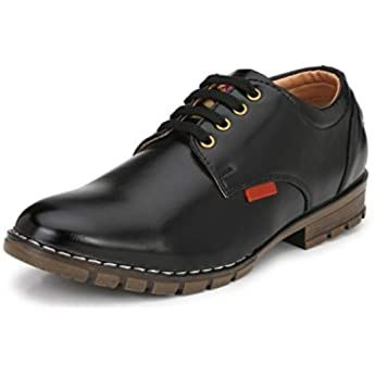 buy mactree men's handcrafted mid top formal laceup shoes