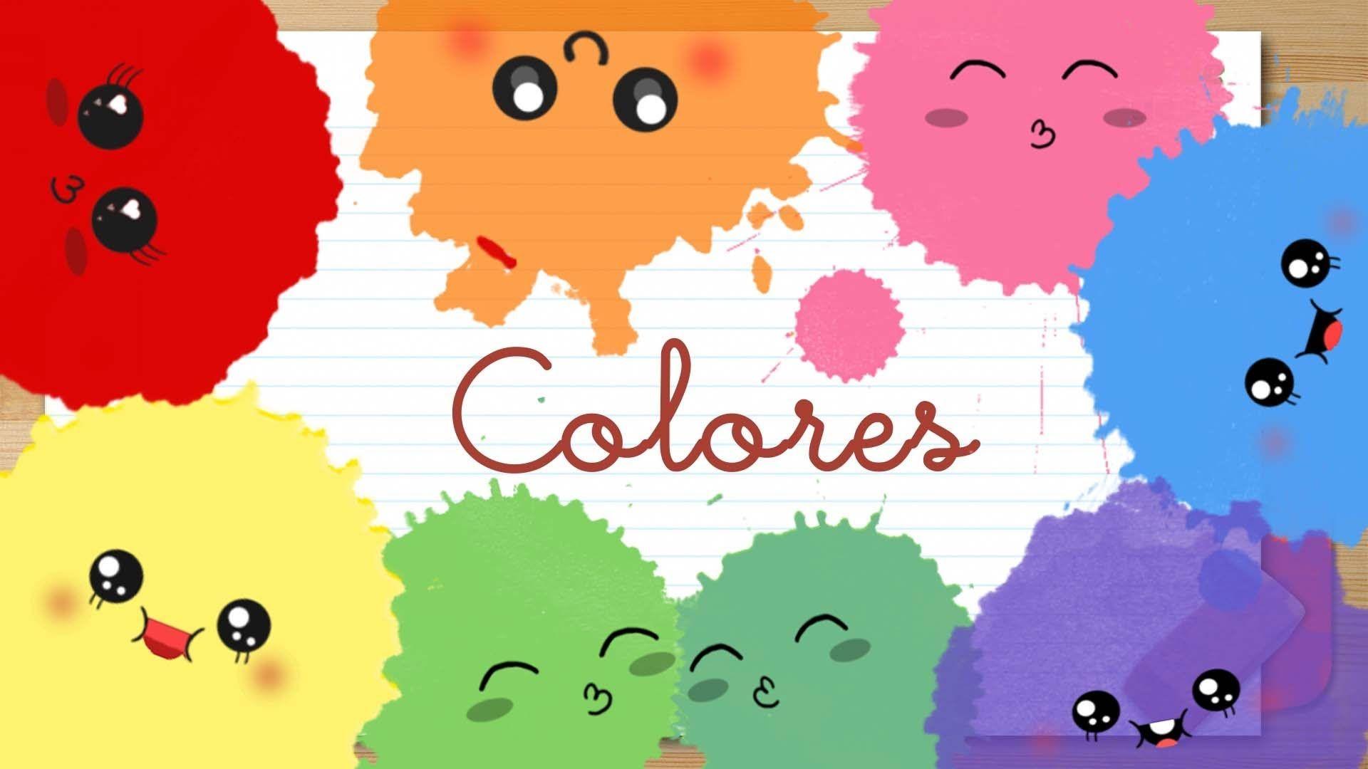 Colores En Espanol Para Ninos