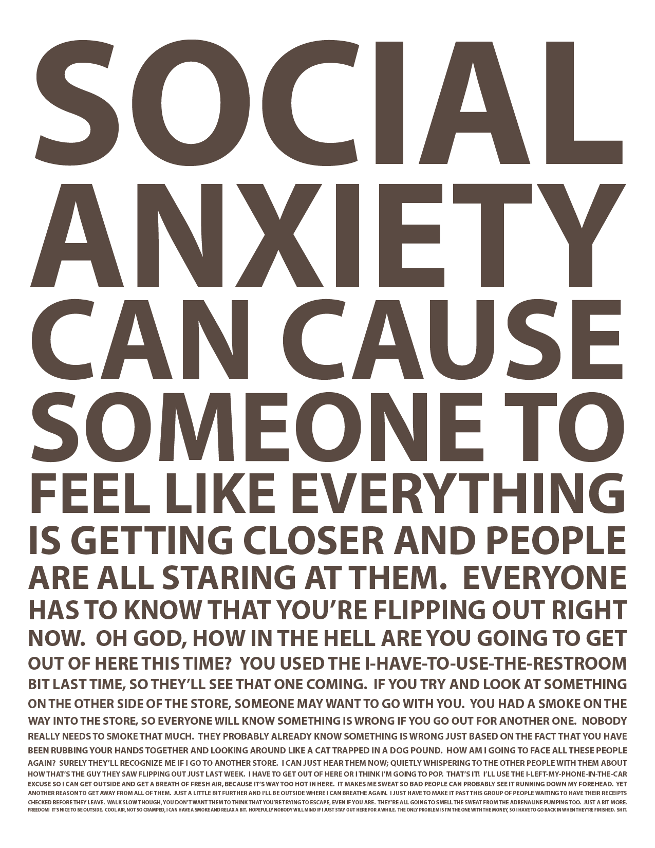 Panic attack general anxiety disorder essay