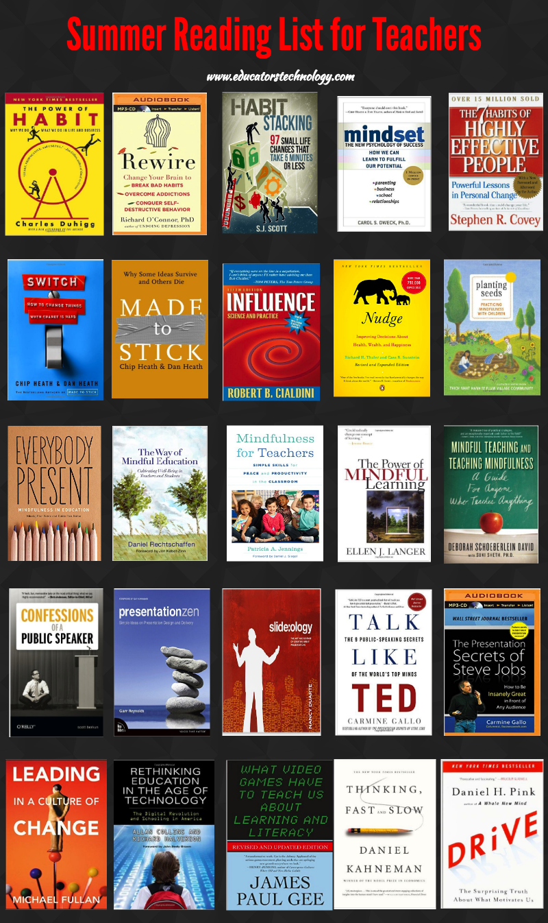 Summer Reading List For And By Teachers >> A Great Summer Reading List For Teachers Teachery Summer Reading