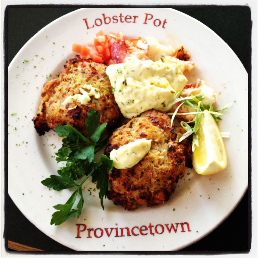 Lobster Pot in #Provincetown, MA is a must! #food #diningout #Massachusetts #travel #seafood #crabcakes