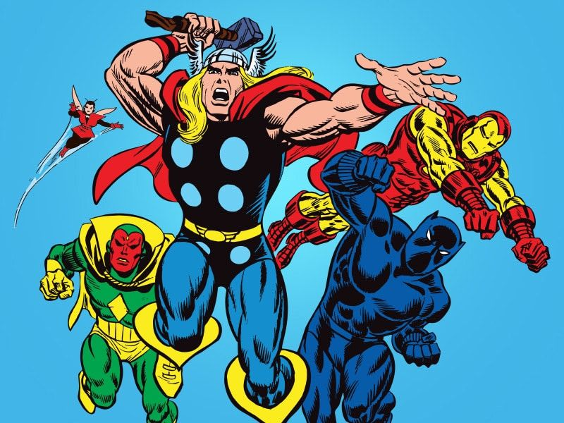 Marvel a journey of heroes thor disney shop disney