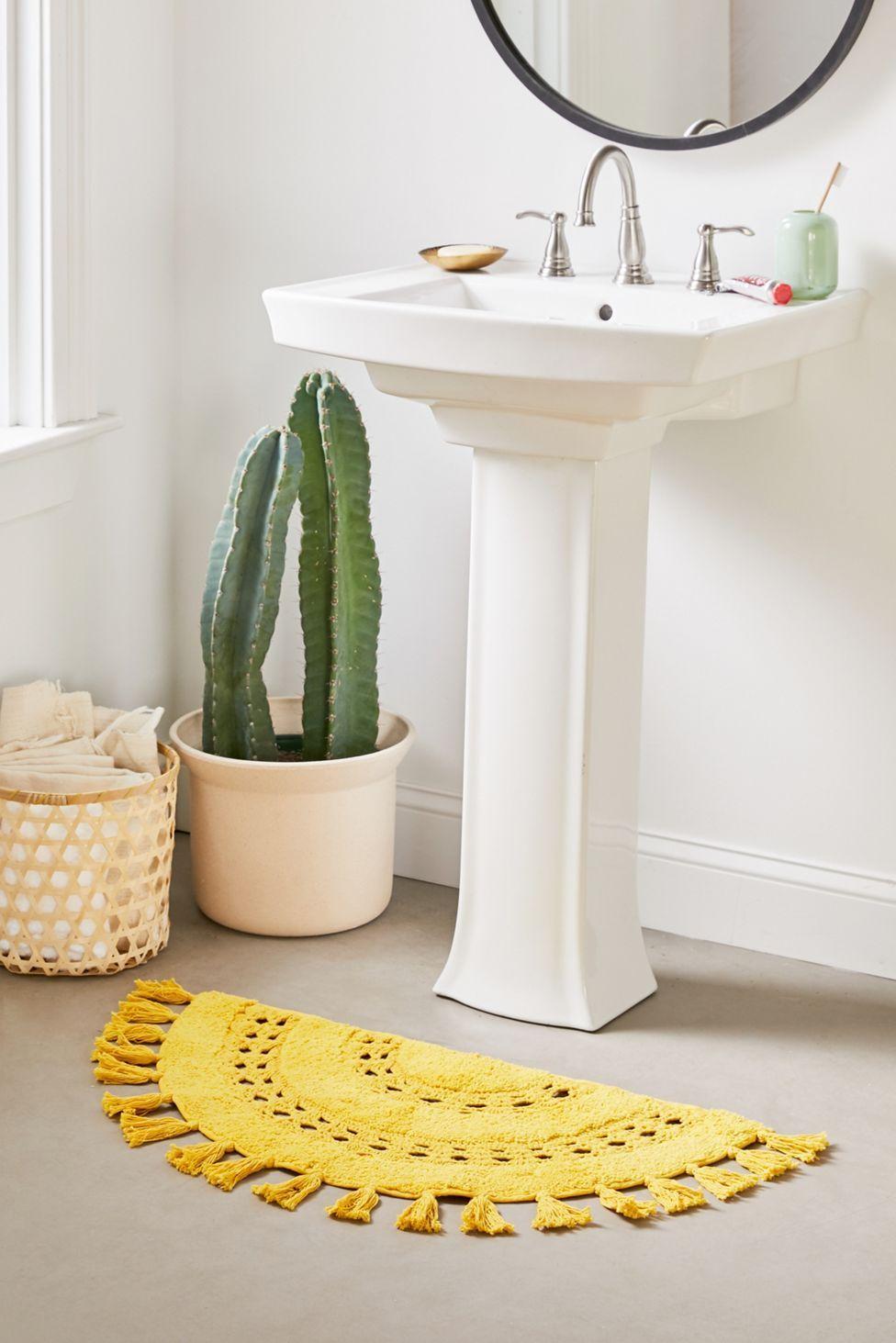 Fiesta Theme Party Discover Crochet Sun Bath Mat Crochet Sun Bath Mat Urban Outfitters Bathroom Rugs Simple Bathroom Decor Small Bathroom Decor [ 1463 x 976 Pixel ]