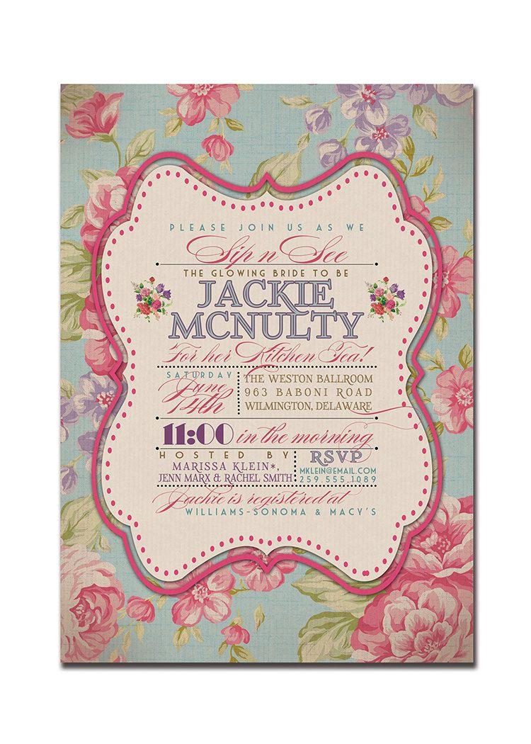 Printable Afternoon Tea Invitations | 21st | Pinterest | Afternoon ...