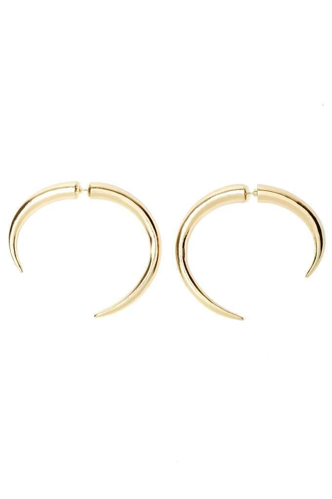Mess with the Bull Earrings - Earrings | Gold | Back In Stock