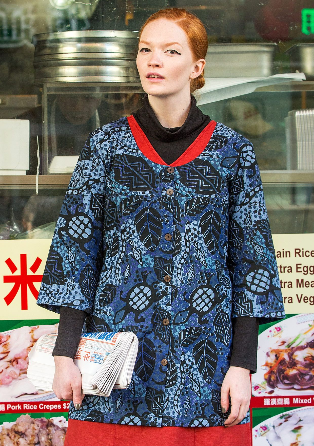 Gudrun Sjoden fall 2016. Turtle tunic. Cotton.   Gudrun 2016 Fall ...