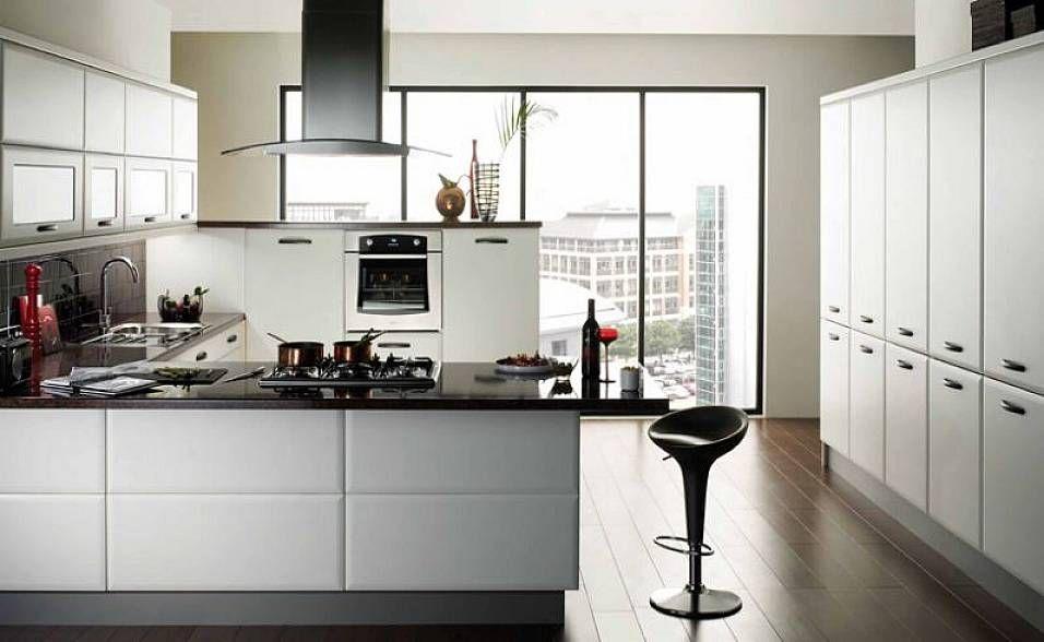 Amazing Of Modern Kitchen White Cabinets Modern Kitchen Ideas With