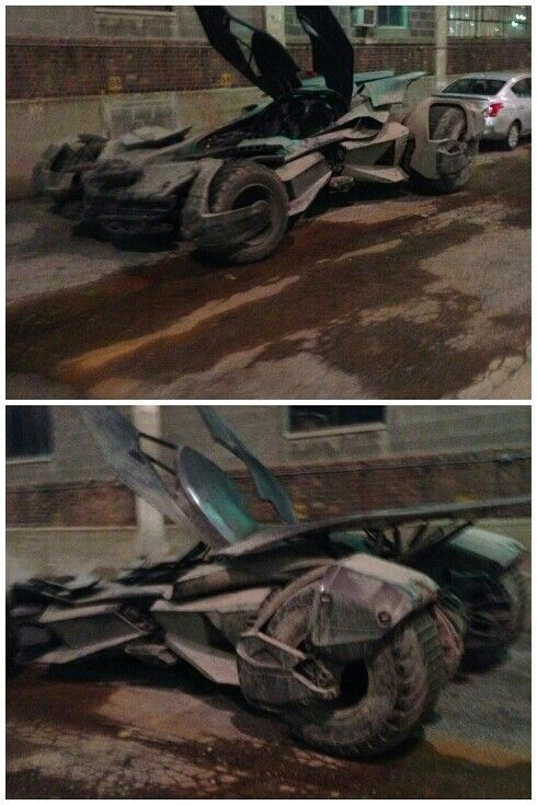 Superman v Batman   The Batmobile