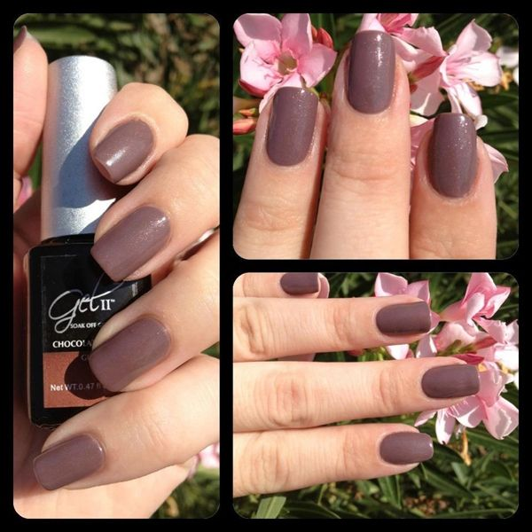 Chocolate Cream Gel Ii Nail Polish The Perfect Fall Color