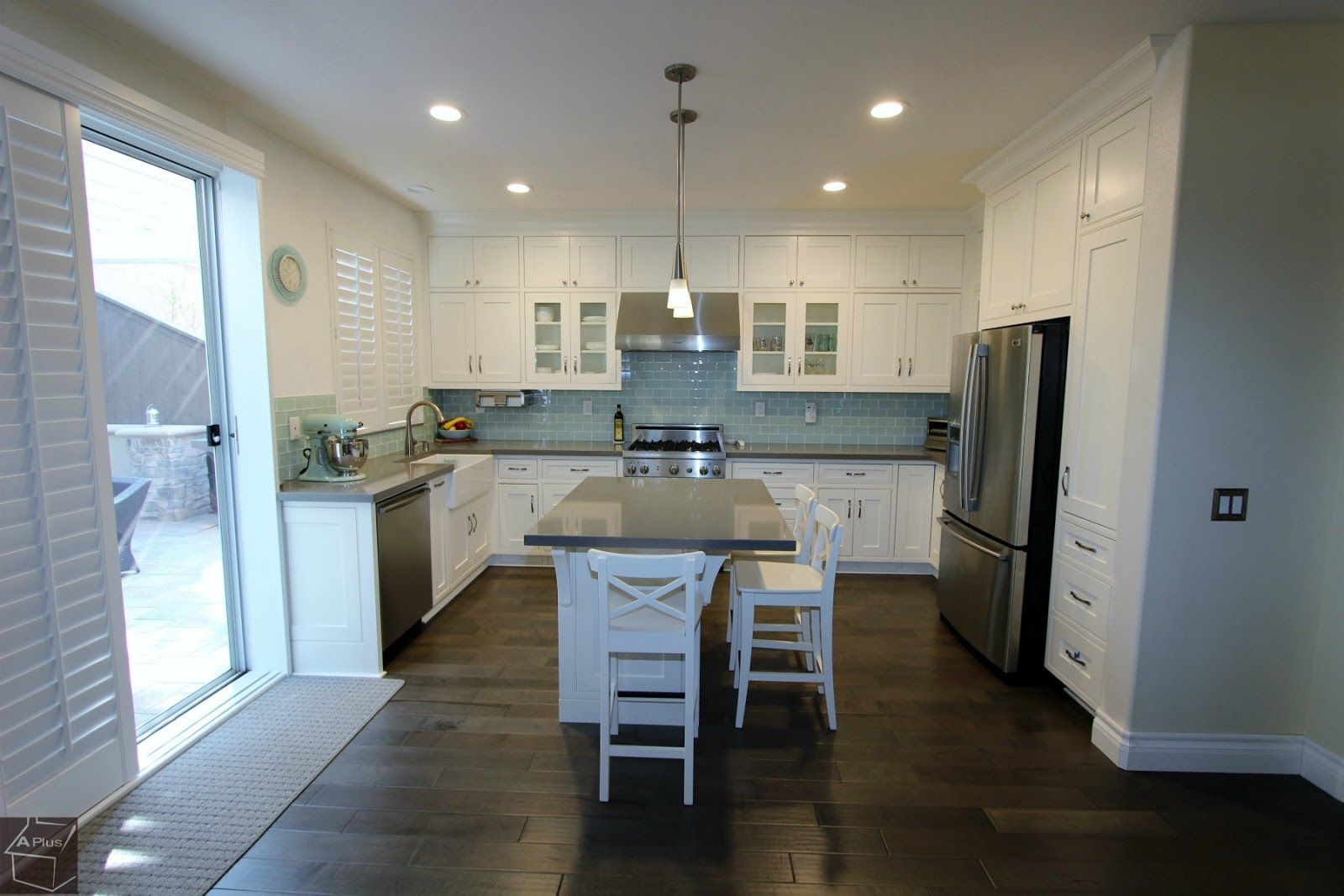 Irvine Complete Kitchen Remodel With Brand New Custom Cabinets Complete Kitchen Remodel Kitchen Remodel Custom Kitchen Cabinets