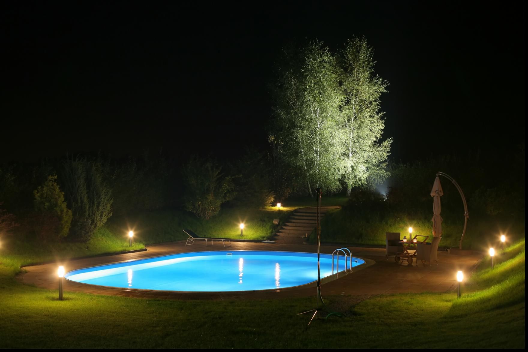 Outdoor Patio Lights Around Pool Superb Ideas Inspiring Ideas Within Solar Patio Lights An Inexpensive Outdoor Pool Decor Outdoor Lighting Design Pool Decor