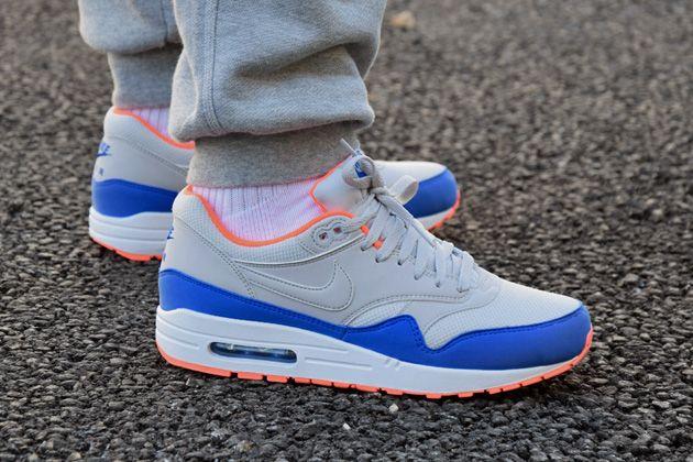 air max blue orange grey