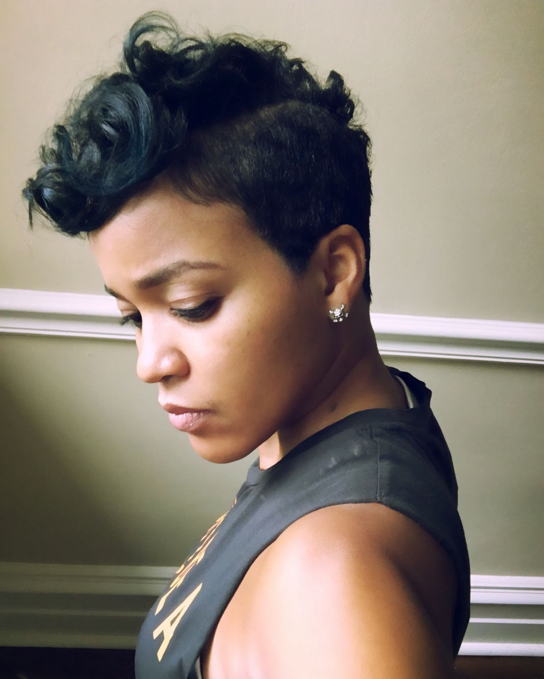 Fav short mohawk short hair cutz pinterest