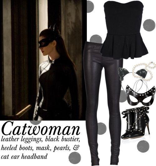 // History & High Heels {Halloween DIY: Catwoman}