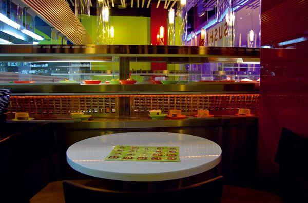 Running Sushi Bar #ASB #interior #design
