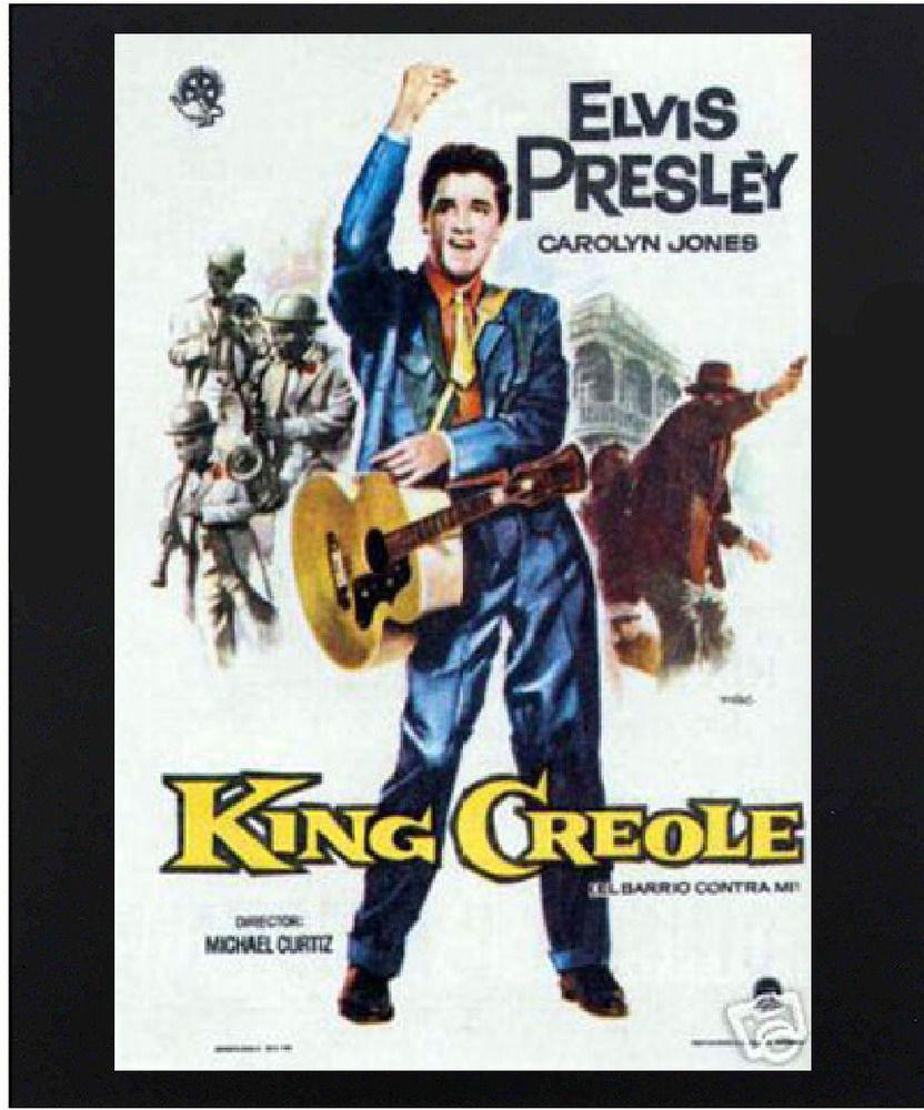 King Creole Elvis Presley Vintage Lobby Card Poster Movie Musical Reproduction in 2020 - Elvis presley posters, Elvis presley, Elvis - 웹