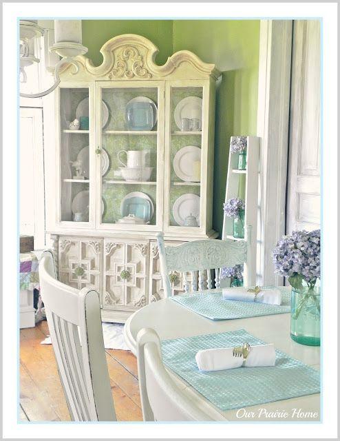 Shabby Farmhouse China Cabinet Makeover Farmhouse China Cabinet Furniture Makeover Cabinet Makeover