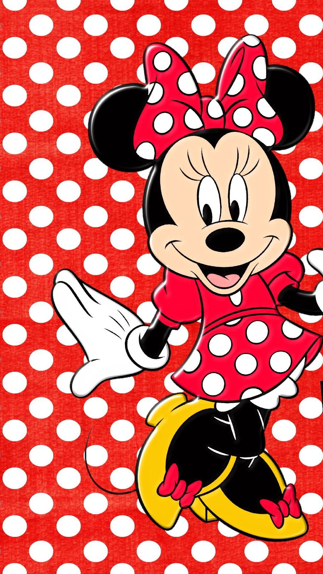 minnie mouse Tap to see more cute cartoon wallpapers