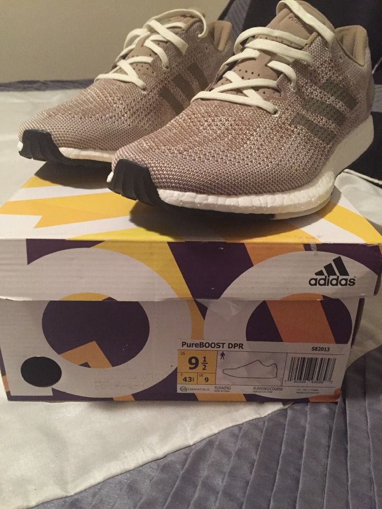 2141386e216a8 Men s Adidas PureBoost Pure Boost DPR Running Shoes Sz 9.5 Khaki Brown  S82013  fashion  clothing  shoes  accessories  mensshoes  athleticshoes  (ebay link)