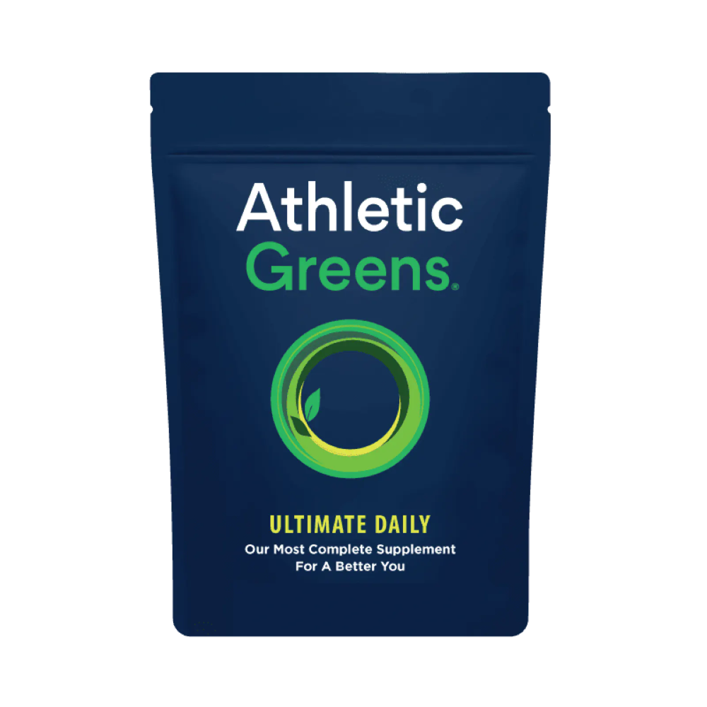 Unlock your body's potential with the highest quality whole food supplement on the market, Athletic Greens. #athletefood