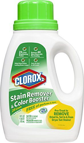 Clorox 2 Laundry Stain Remover And Color Booster Free And Clear