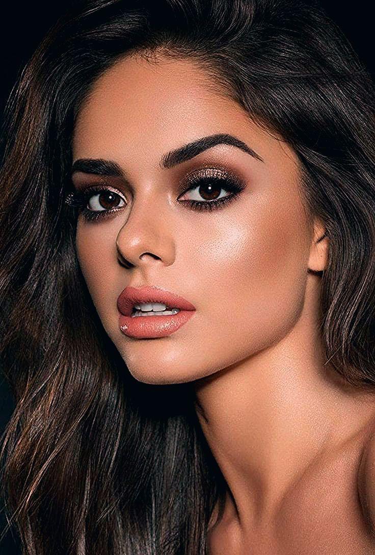38 Die besten Make-up-Ideen für braune Augen - Beauty Makeup Ideas - #Eye # ... -  #augen #be...