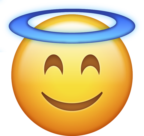 Angel Halo Emoji Download Iphone Emojis Desenho De Emoji