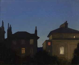 Summer Night By George Clausen