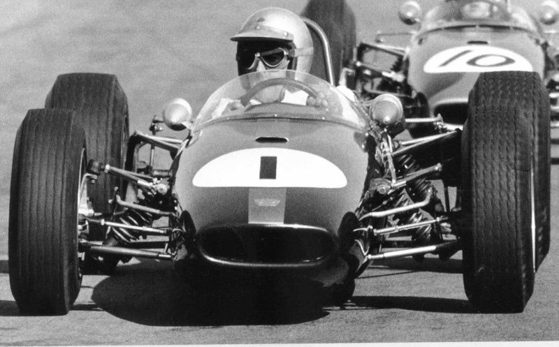 Jack Brabham - Brabham BT18 Honda - Brabham Racing Developments - XIV London Trophy 1966