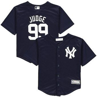 4483f3ec5e2 Aaron Judge New York Yankees Preschool Replica Player Jersey – Navy ...