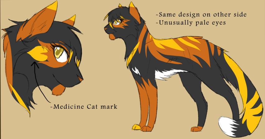 Deeplake Scarlet River Wiki FANDOM Warrior cats