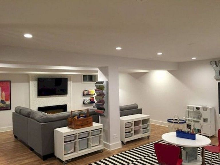 Awesome Small Basement Apartment Ideas On A Budget Basement Basementideas Unfinishedbasement Finishedba Kids Basement Basement Remodeling Basement Bedrooms