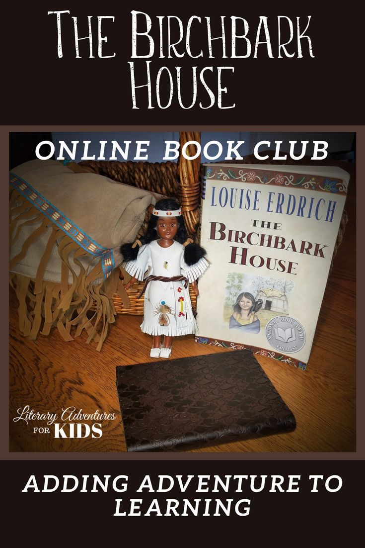 the birchbark house online book club for kids a novel adventure rh pinterest com