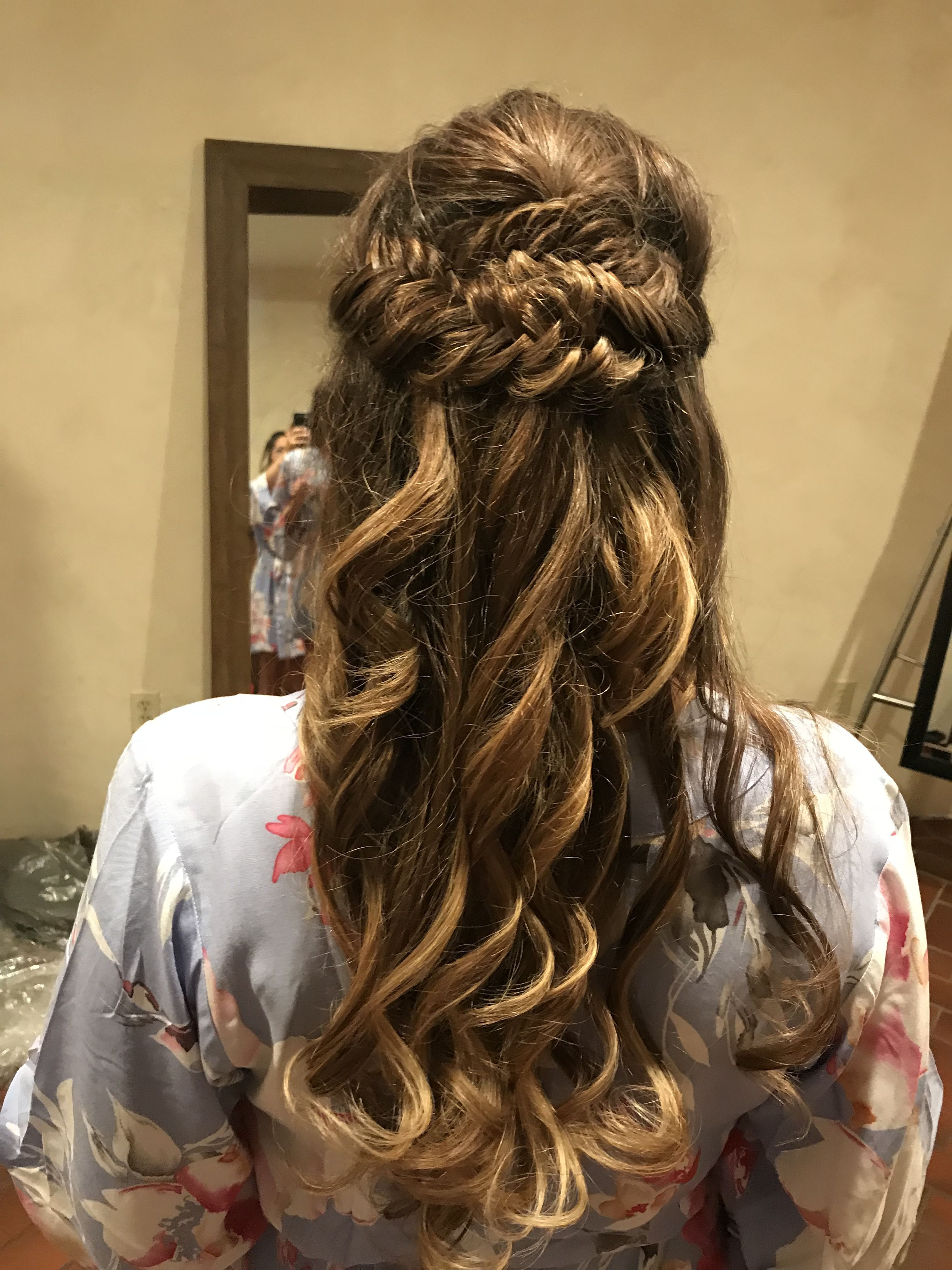 wedding hairstyles fishtail