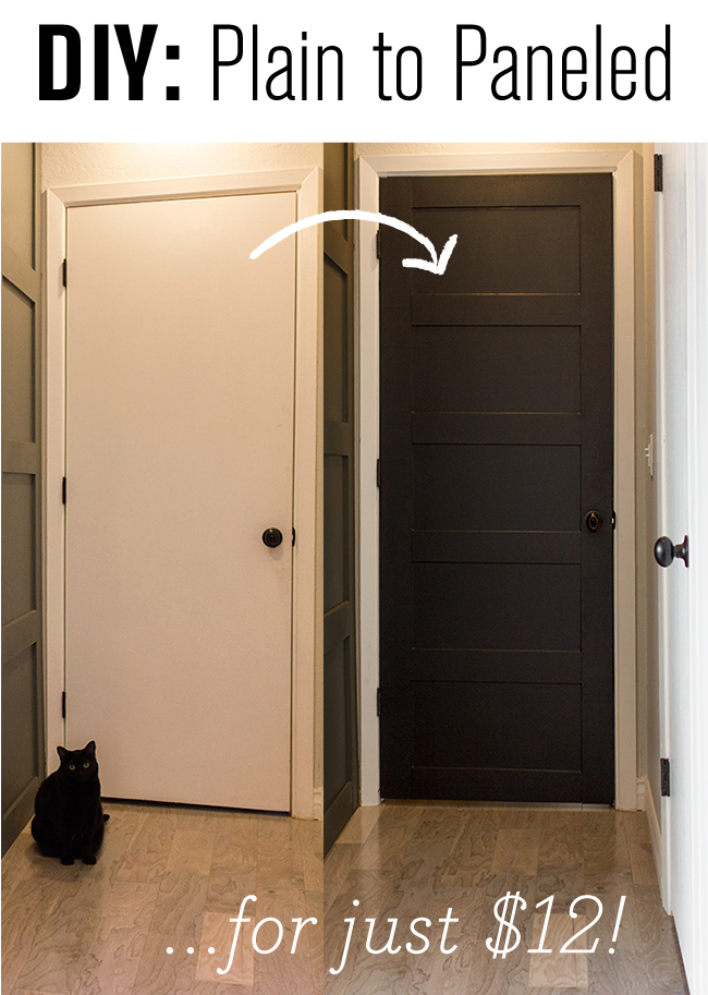 The easiest flat panel door update ever also doors easy and blog rh za pinterest