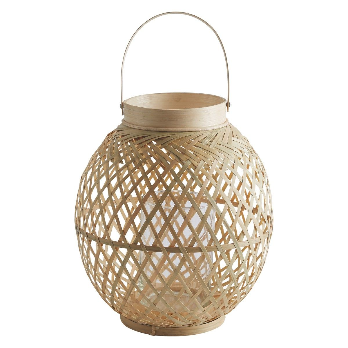 Jexa woven bamboo lantern 24x26cm buy now at habitat uk add a stylish edge to your garden with habitats range of outdoor lighting and accessories whether youre looking for lanterns decorations or more mozeypictures Images