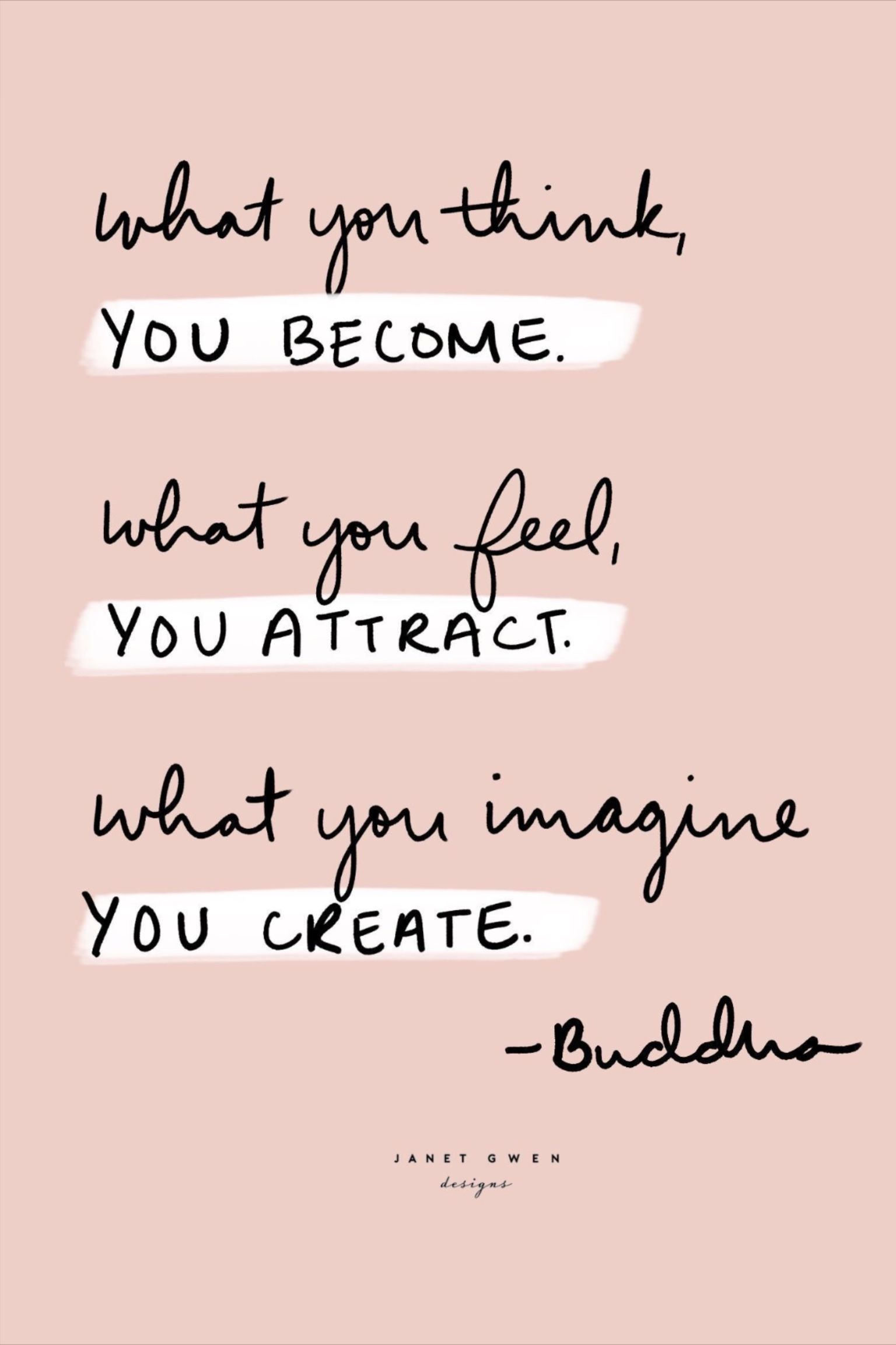 ... what you think, you become... | words | quotes