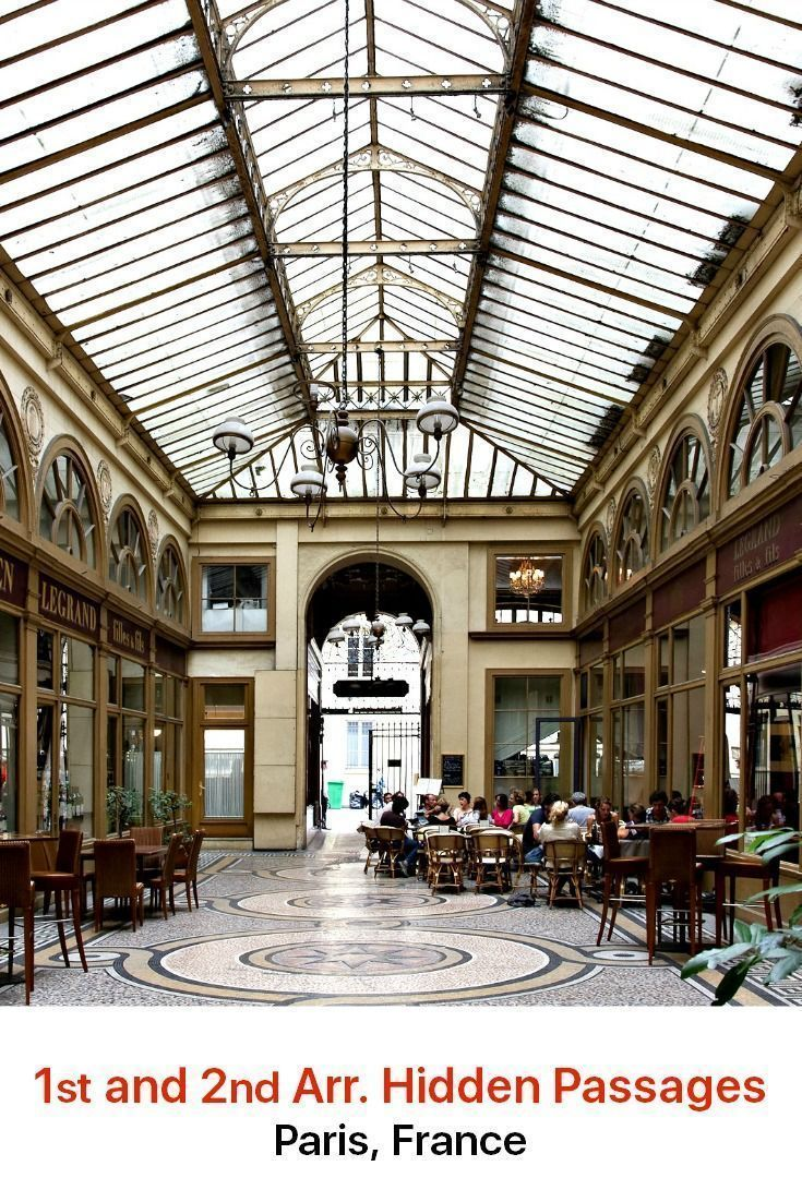 Paris has been an elegant shopping destination for more than 200 years. Some of this fabulous past can be seen in the city's hidden passages and galleries, old-fashioned arcades that captivate with fascinating architectural features.