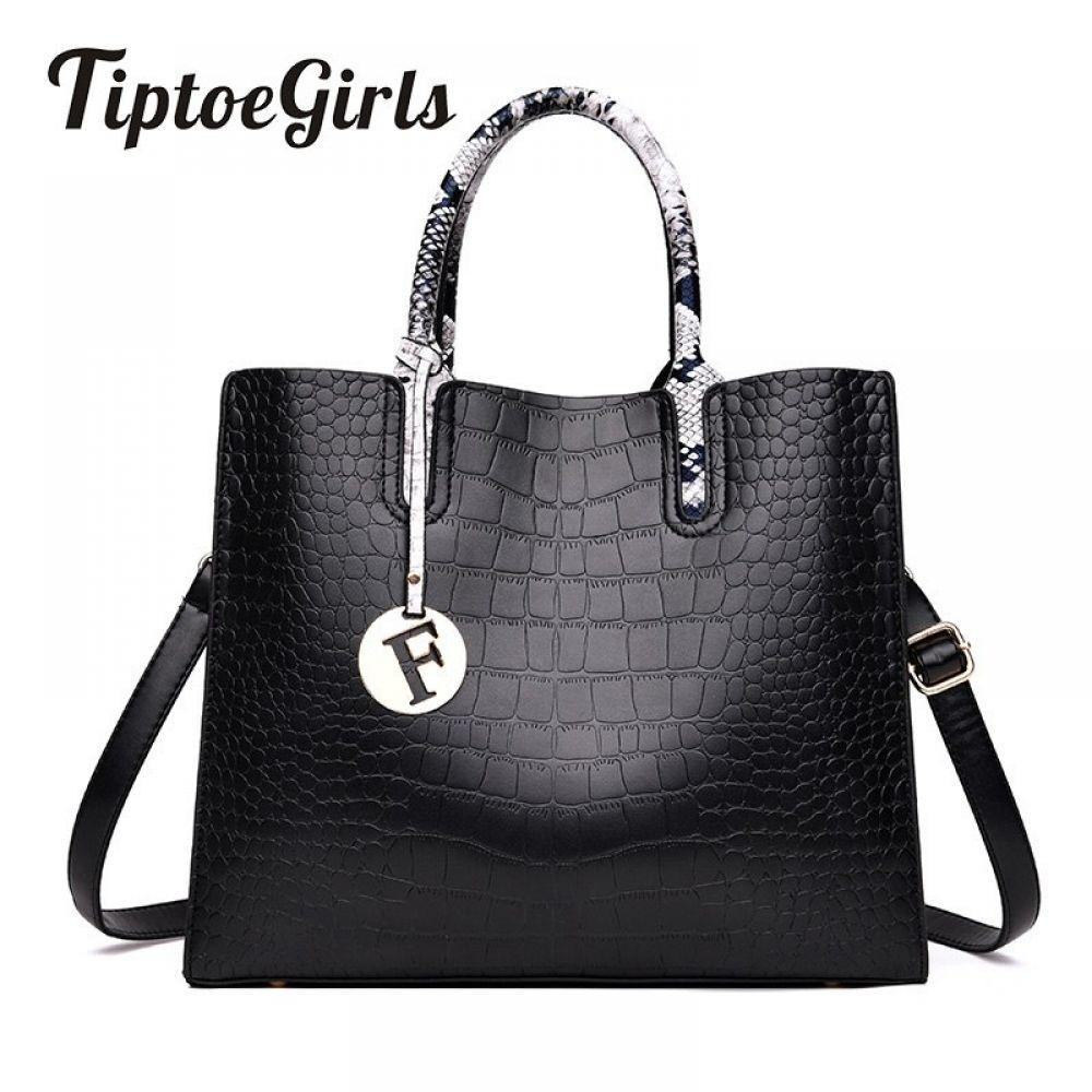 Womens Handbag Fashion Handbag Temperament Messenger Shoulder Black