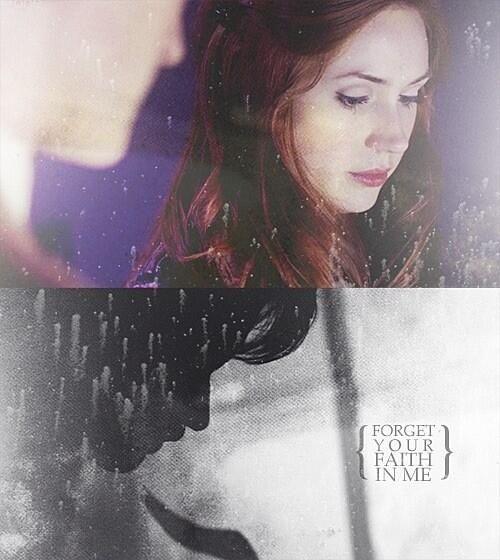 Amy Pond / faith in the Doctor