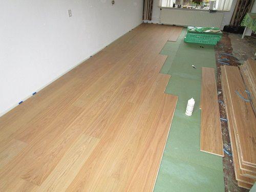 Houten vloer leggen op houten ondervloer better prachtige vloer