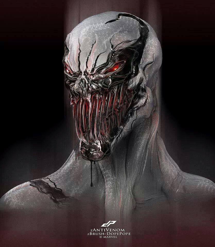 #Anti #Venom #Fan #Art. (ANTI VENOM) By: DP. (THE * 5 ...