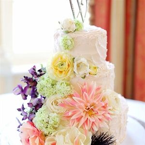 Floral Decorated Cake