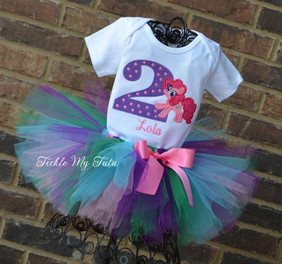 Pinkie Pie Birthday Tutu Outfit...My Little Pony Birthday
