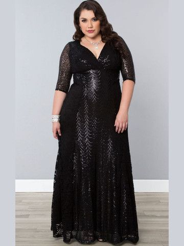 Grand Gatsby Plus Size Gown
