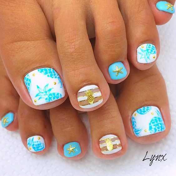 Amazing and creative toe nail art ideas for summer 2016 7g 564 are you looking for summer themed nail art ideas for your toes take a look at our collection of amazing and creative toe nail prinsesfo Image collections