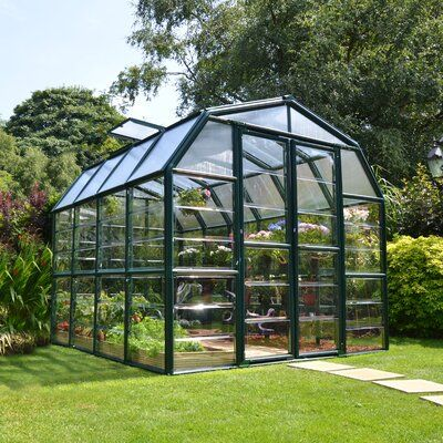 Rion Grand Gardener 2 Clear Greenhouse 8 X 16