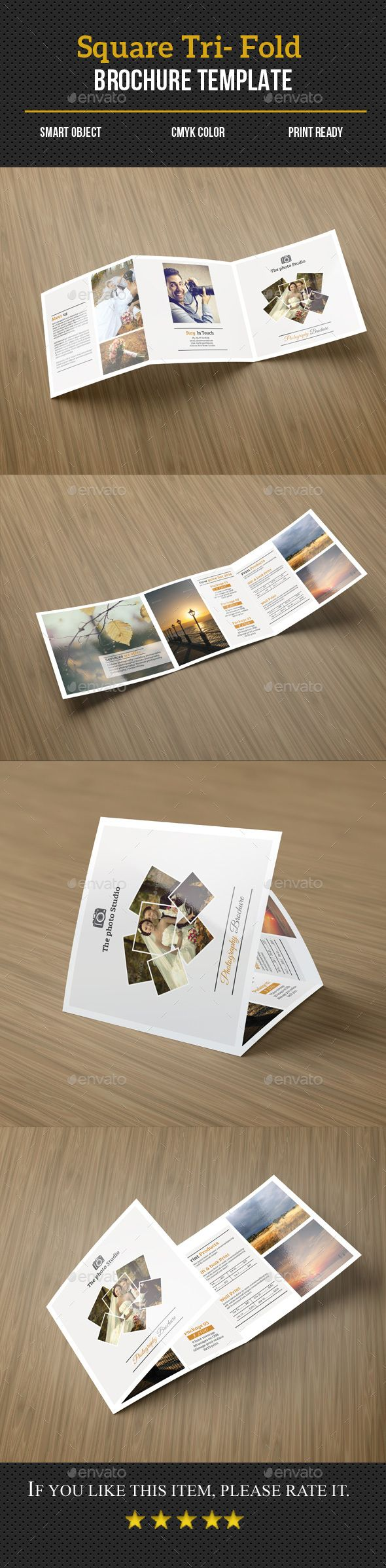 Photography Pricing List Brochure Brochure Template Brochures - Price list brochure template