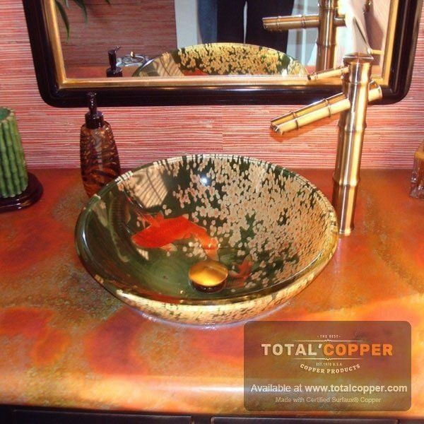 Patina Copper Sheet  Heavy 24 Gauge  Total CoppercopperRojo Patina Copper Sheet  Heavy 24 Gauge  Total Coppercopper Inground Spas  Forans Fence  Decks How to create a gre...