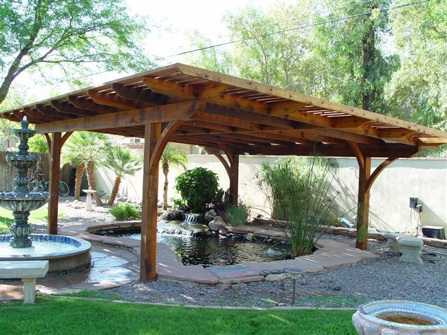 Shade for koi pond ponds pinterest pond ponds for Pond shade ideas